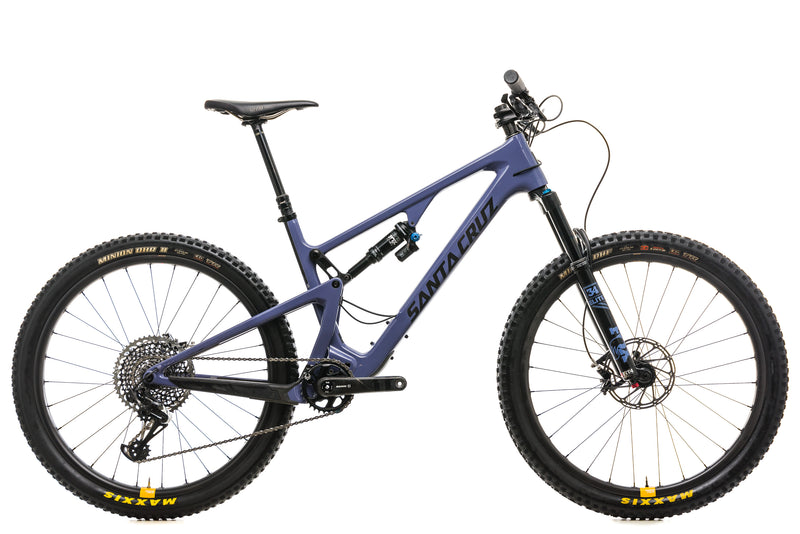 Santa Cruz 5010 CC X01 Reserve Mountain Bike - 2019, Large drive side