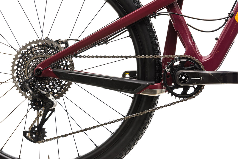 Santa Cruz Tallboy CC Mountain Bike - 2019, Medium drivetrain
