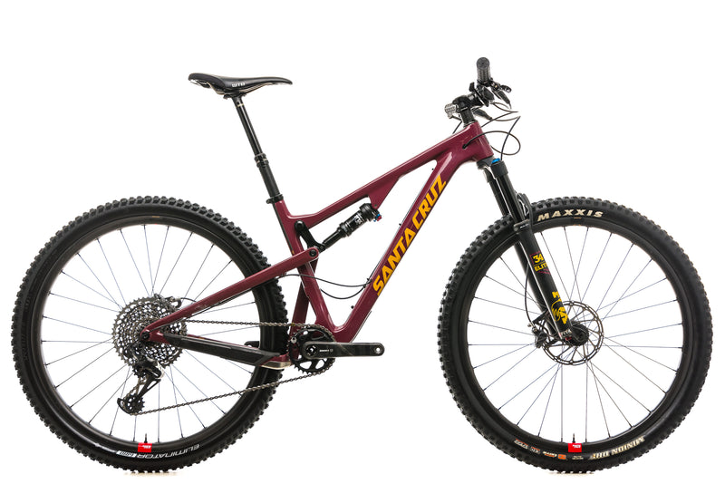Santa Cruz Tallboy CC X01 Reserve Mountain Bike - 2019, Medium drive side