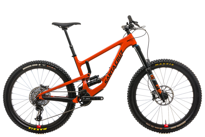 Santa Cruz Nomad CC Mountain Bike - 2019, Medium drive side
