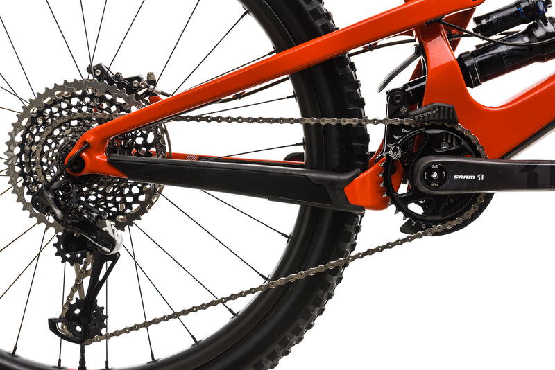 Santa Cruz Nomad CC Mountain Bike - 2019, Medium drivetrain