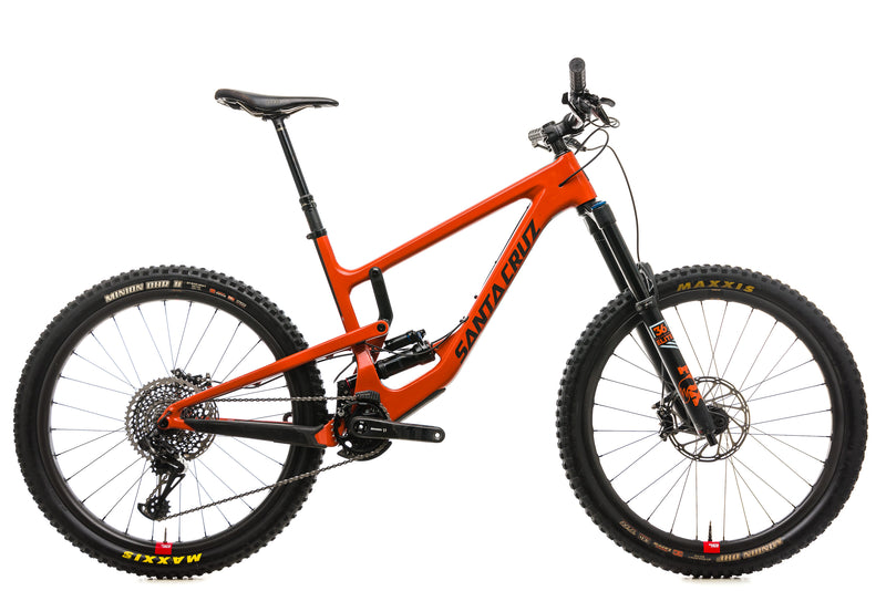 Santa Cruz Nomad CC X01 Reserve Mountain Bike - 2019, Large drive side