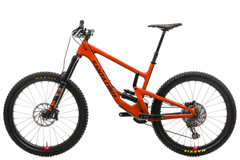 Santa Cruz Nomad CC X01 Reserve Mountain Bike - 2019, Large non-drive side