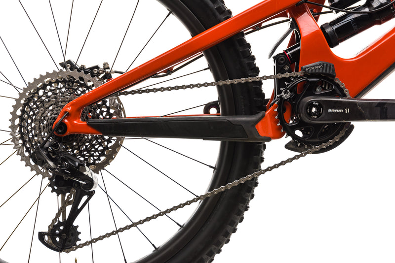 Santa Cruz Nomad CC X01 Reserve Mountain Bike - 2019, Large drivetrain