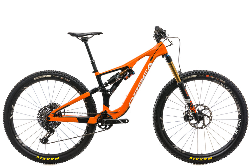 Orbea Rallon M-Team Mountain Bike - 2019, SMALL drive side