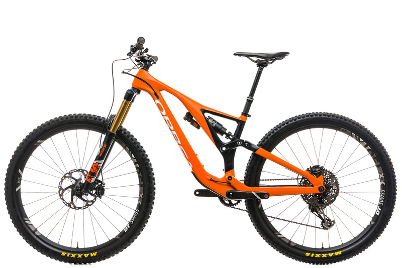 Orbea Rallon M-Team Mountain Bike - 2019, SMALL non-drive side