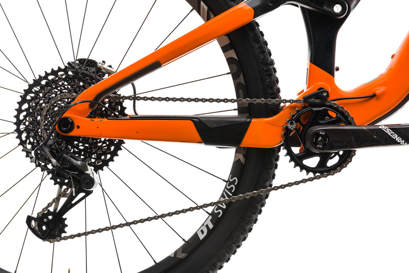 Orbea Rallon M-Team Mountain Bike - 2019, SMALL drivetrain