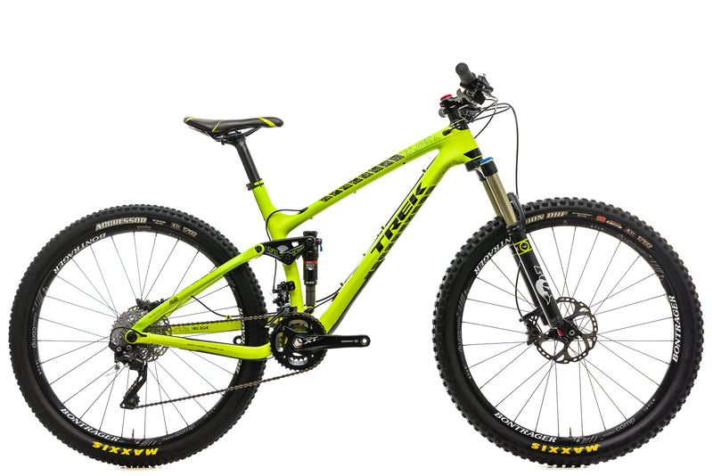 "Trek Fuel EX 9.8 Mountain Bike - 2015, 17.5"" drive side"