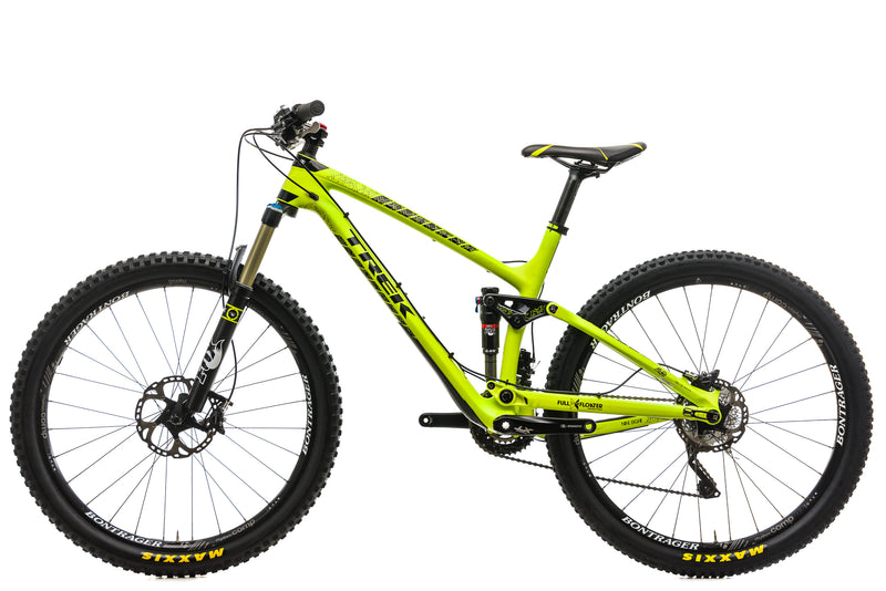 "Trek Fuel EX 9.8 Mountain Bike - 2015, 17.5"" non-drive side"