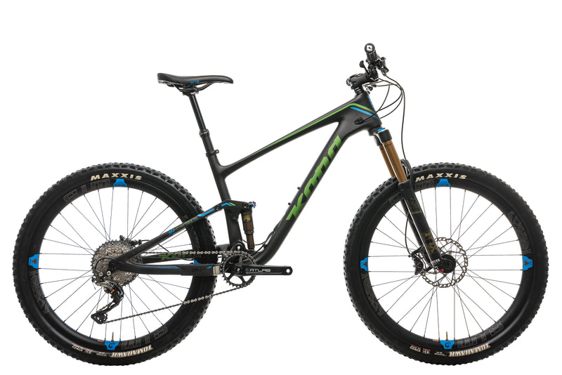 Kona Hei Hei Trail DL Mountain Bike - 2017, Medium drive side