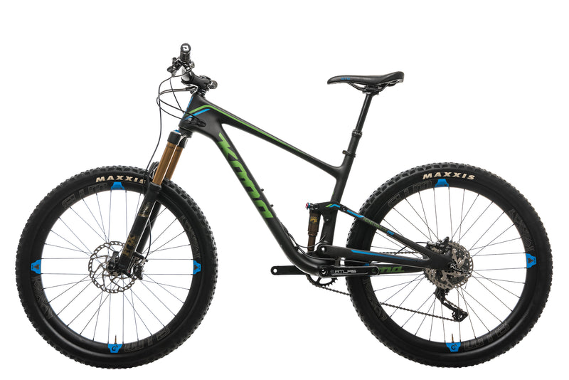 Kona Hei Hei Trail DL Mountain Bike - 2017, Medium non-drive side