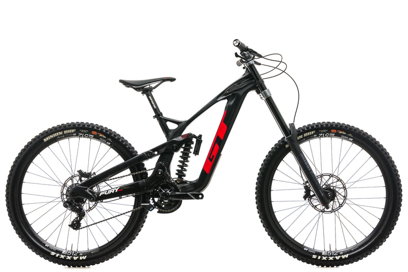 GT Fury Pro Downhill Mountain Bike - 2019, Small drive side