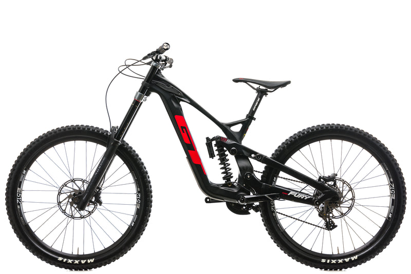 GT Fury Pro Downhill Mountain Bike - 2019, Small non-drive side