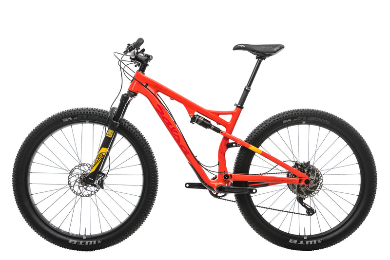 Salsa Deadwood 29+ Mountain Bike - 2017, Medium non-drive side