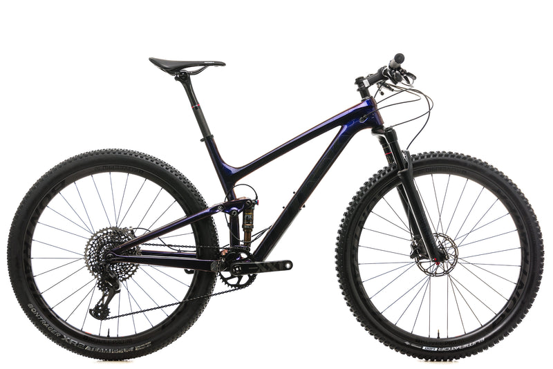 "Trek Top Fuel 9.9 SL Mountain Bike - 2019, 19.5"" drive side"