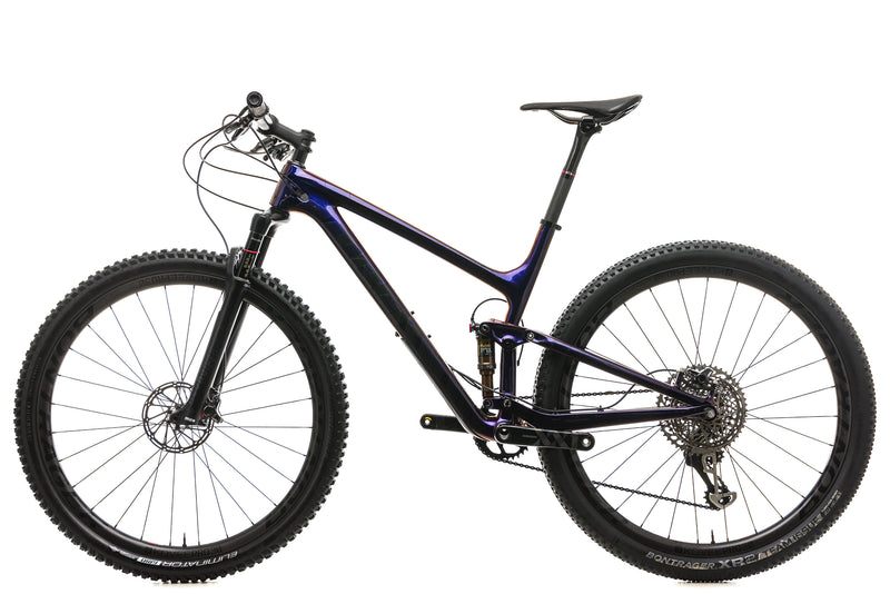 "Trek Top Fuel 9.9 SL Mountain Bike - 2019, 19.5"" non-drive side"
