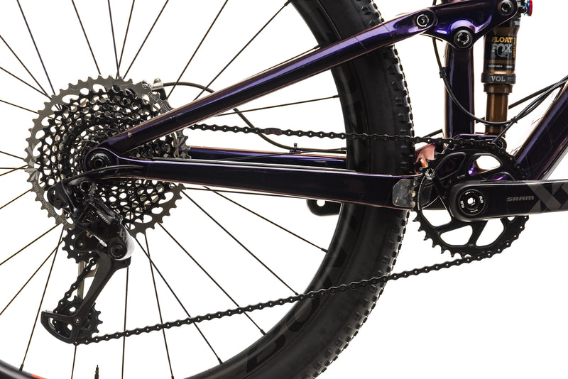 "Trek Top Fuel 9.9 SL Mountain Bike - 2019, 19.5"" drivetrain"