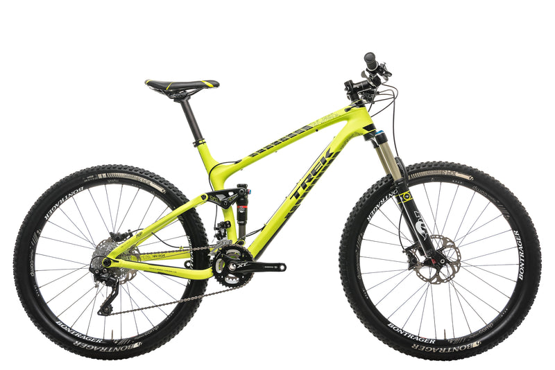 "Trek Fuel EX 9.8 Mountain Bike - 2015, 19.5"" drive side"