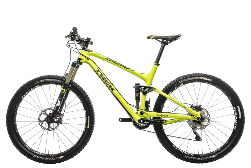 "Trek Fuel EX 9.8 Mountain Bike - 2015, 19.5"" non-drive side"