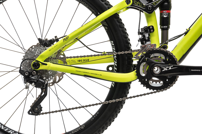 "Trek Fuel EX 9.8 Mountain Bike - 2015, 19.5"" drivetrain"