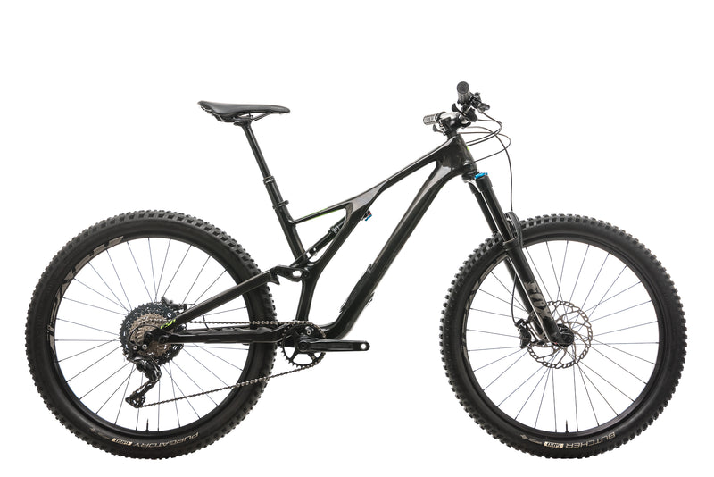 Specialized Stumpjumper Comp Carbon 27.5 Mens Mountain Bike - 2018, Medium drive side