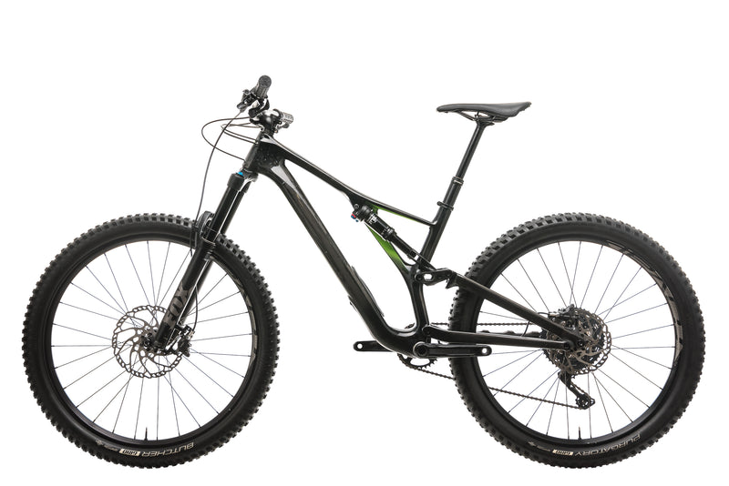 Specialized Stumpjumper Comp Carbon 27.5 Mens Mountain Bike - 2018, Medium non-drive side