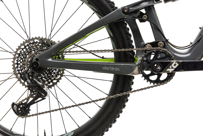 Ibis Mojo HD4 X01 Eagle Mountain - 2018, Bike Medium drivetrain