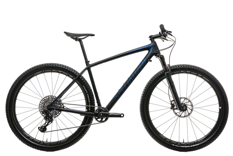 Specialized Epic Hardtail Pro Mens Mountain Bike - 2018, Large drive side