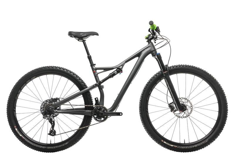 Specialized Camber FSR Comp 29 Mountain Bike - 2017, Medium drive side
