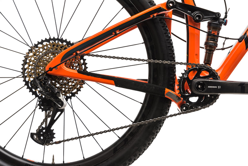 Niner RKT 9 RDO 5-Star Mountain Bike - 2019, Large drivetrain