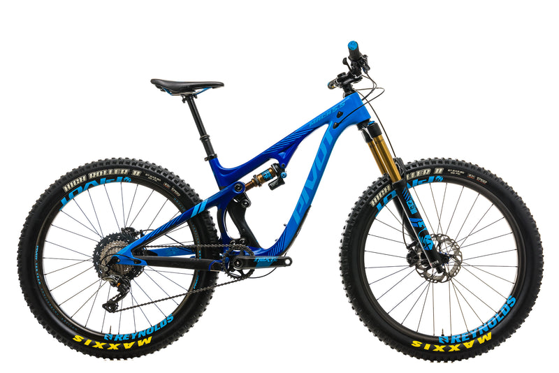 Pivot Mach 5.5 Carbon Mountain Bike - 2018, Small drive side