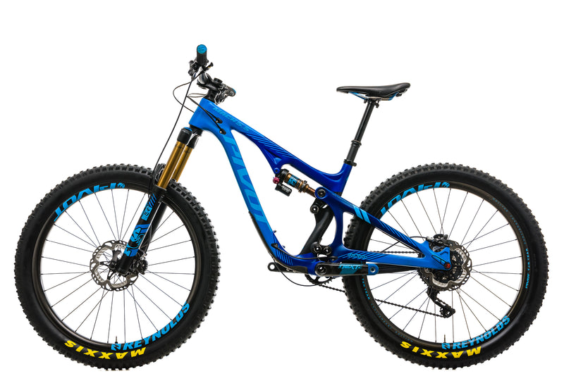 Pivot Mach 5.5 Carbon Mountain Bike - 2018, Small non-drive side