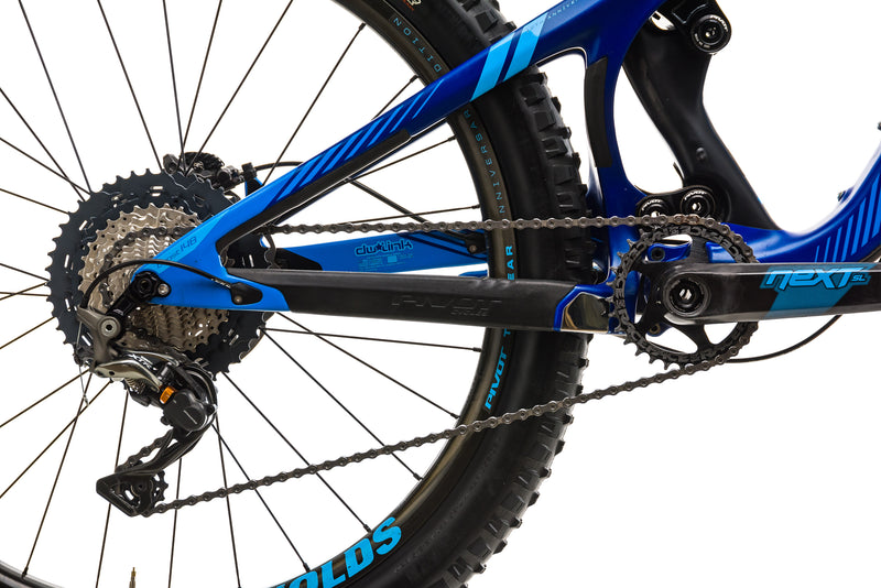 Pivot Mach 5.5 Carbon Mountain Bike - 2018, Small drivetrain