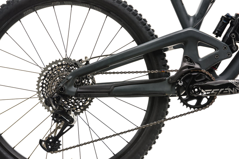 Evil The Calling Mountain Bike - Large drivetrain