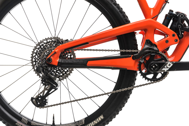 Evil The Following MB Mountain Bike - Medium drivetrain