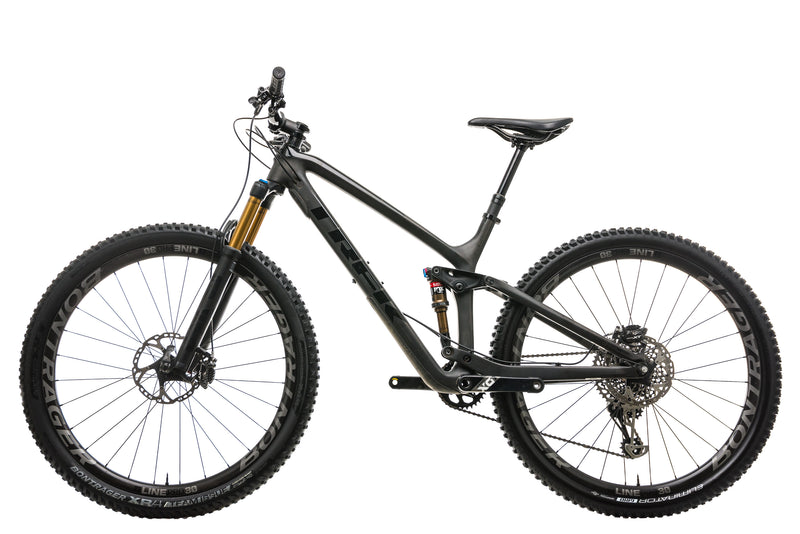 "Trek Fuel EX 9.9 Mountain Bike - 2019, 18.5"" non-drive side"