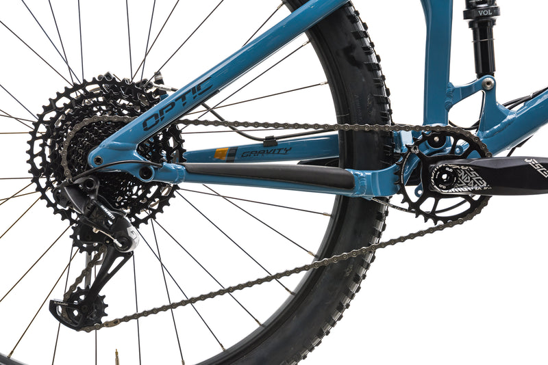 Norco Optic A1 Mountain Bike - 2019, Medium drivetrain