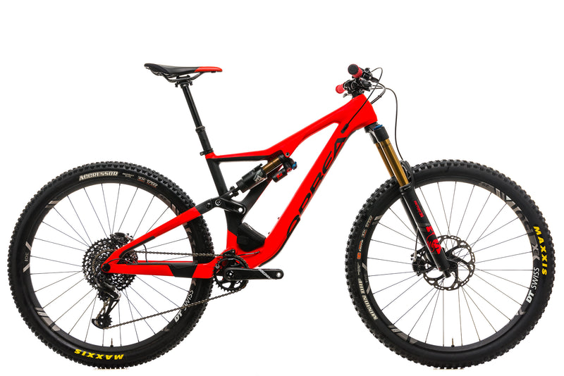 Orbea Rallon M-Team Mountain Bike - 2019, Large drive side