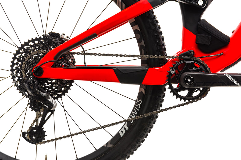 Orbea Rallon M-Team Mountain Bike - 2019, Large drivetrain