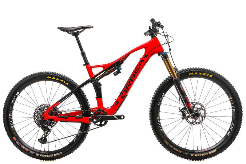 Orbea Occam AM M10 Mountain Bike - 2019, Medium drive side
