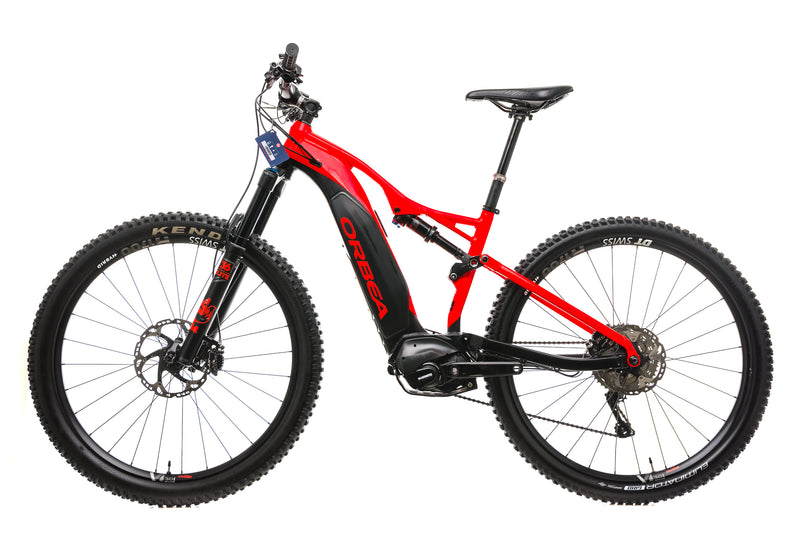 Orbea Wild FS 150 20 Mountain E-Bike - 2019, Medium non-drive side