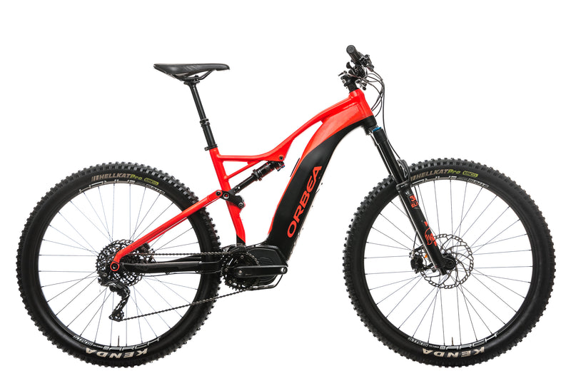 Orbea Wild FS 150 20 29S Mountain E-Bike - 2019, Large drive side