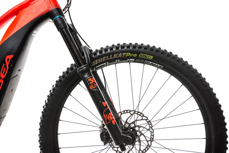 Orbea Wild FS 150 20 29S Mountain E-Bike - 2019, Large cockpit