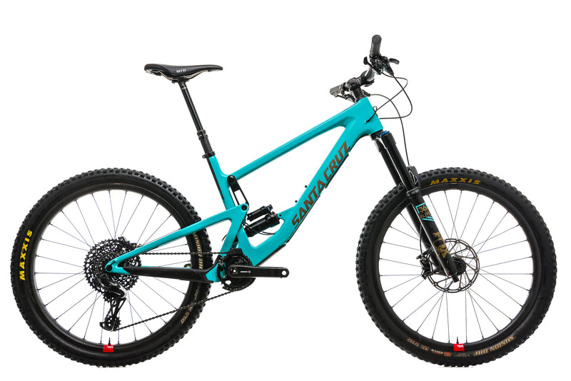 Santa Cruz Bronson CC Mountain Bike - 2019, Large drive side