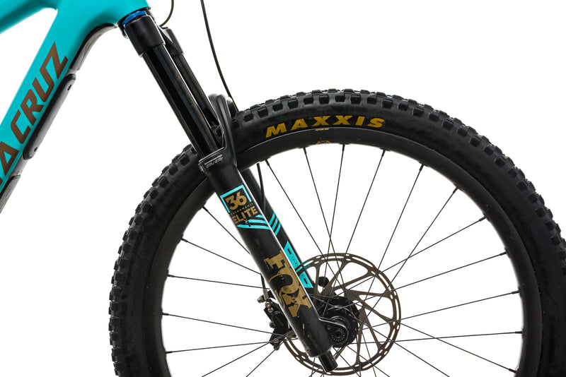 Santa Cruz Bronson CC Mountain Bike - 2019, Large front wheel