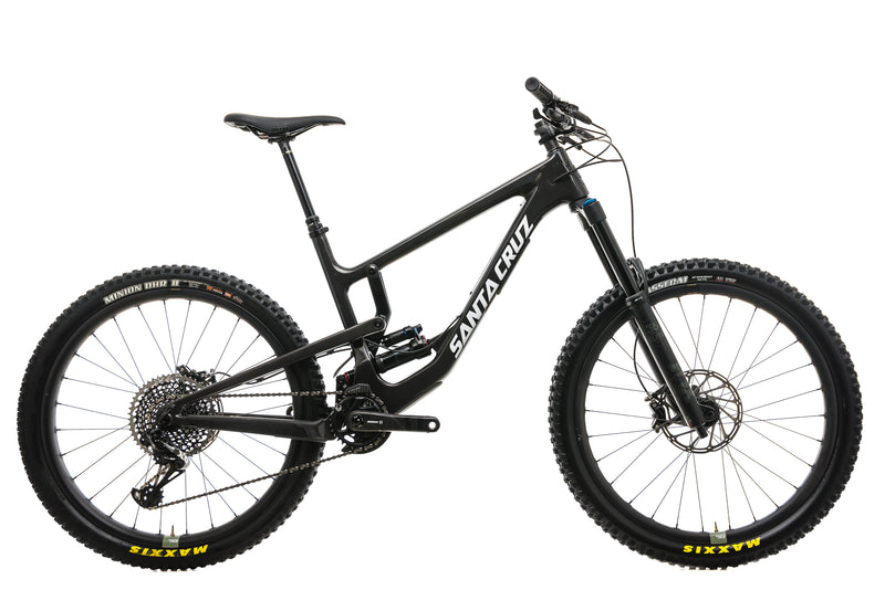 Santa Cruz Nomad CC X01 Reserve Mountain Bike - 2020, Large drive side
