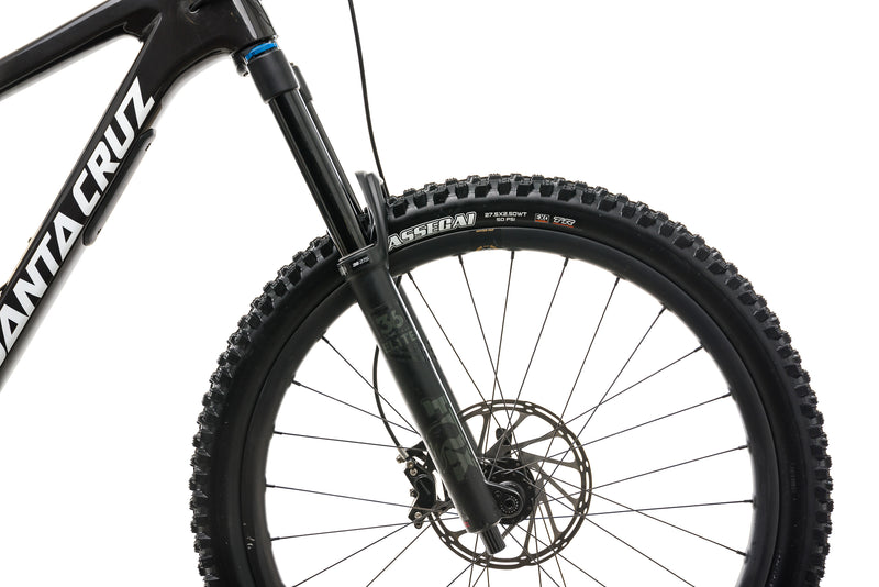 Santa Cruz Nomad CC X01 Reserve Mountain Bike - 2020, Large cockpit