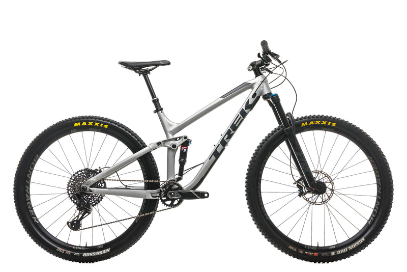 "Trek Fuel EX 8 Mountain Bike - 2018, 18.5"" drive side"