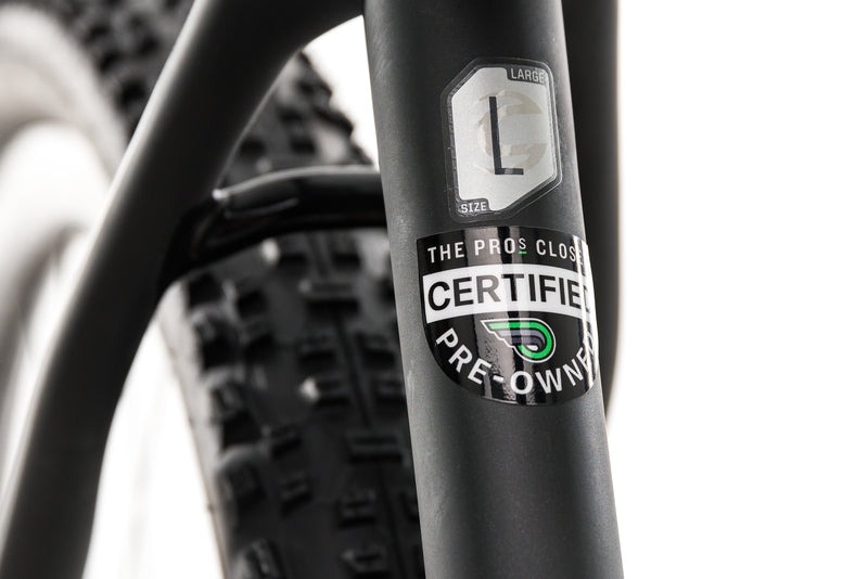 Cannondale F-Si Carbon Black Inc. Mountain Bike - 2017, Large sticker