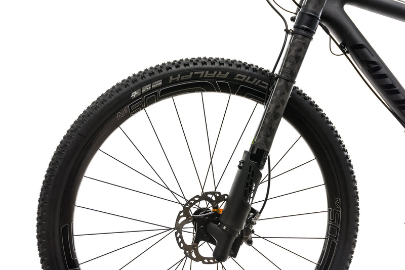 Cannondale F-Si Carbon Black Inc. Mountain Bike - 2017, Large front wheel